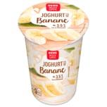 REWE Beste Wahl Joghurt mild Banane 250g