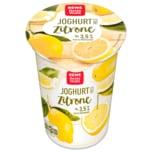 REWE Beste Wahl Joghurt mild Zitrone 250g