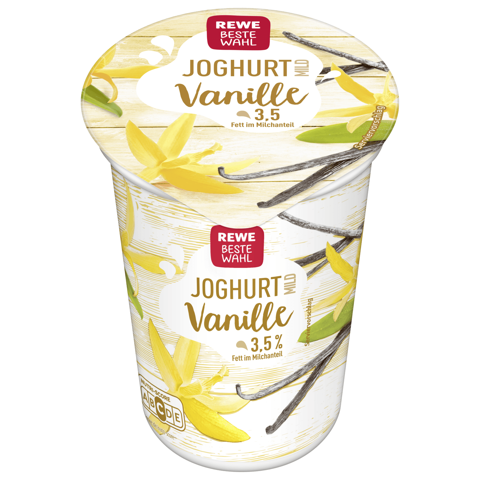 REWE Beste Wahl Joghurt mild Vanille 250g