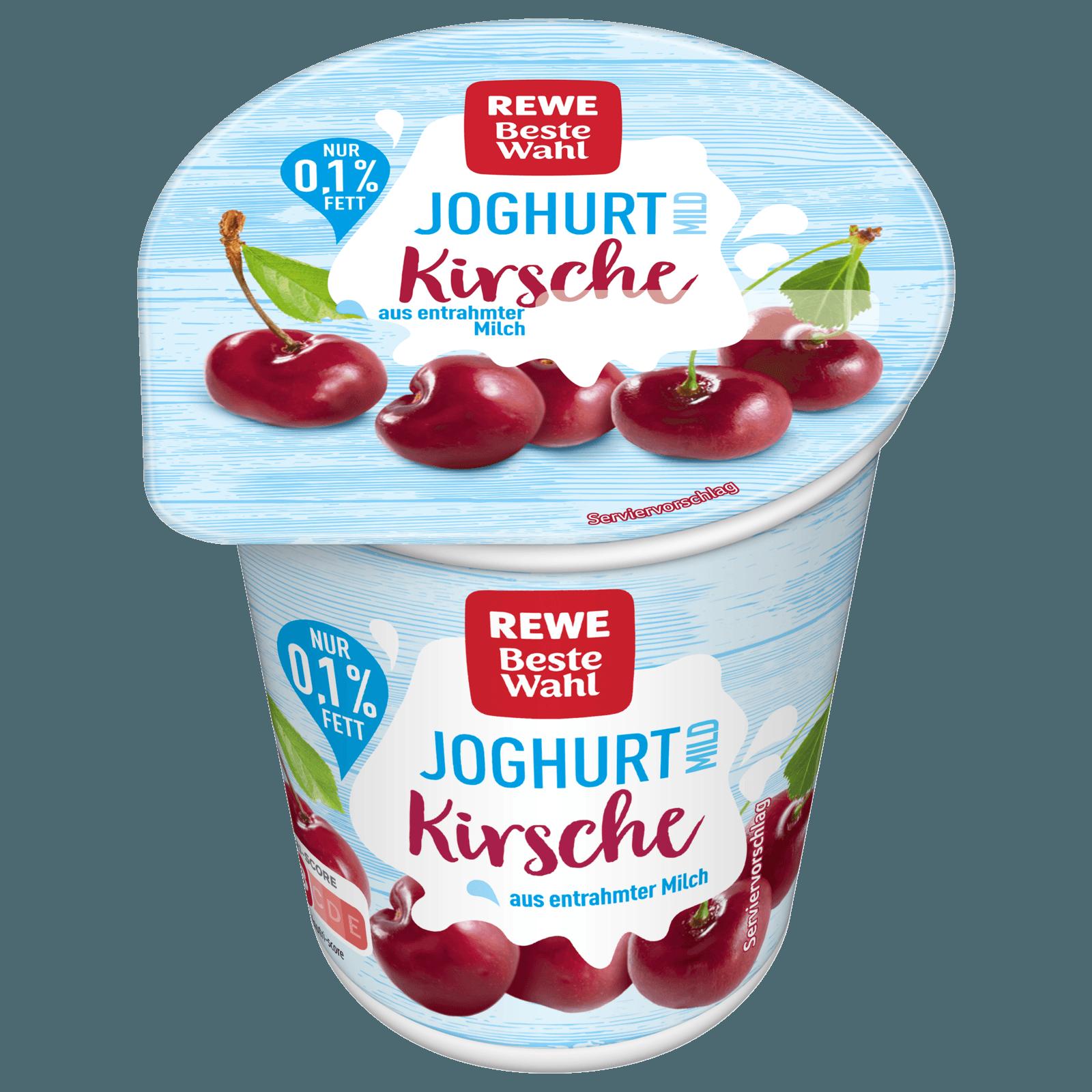 REWE Beste Wahl Fruchtjoghurt mild Kirsche 150g