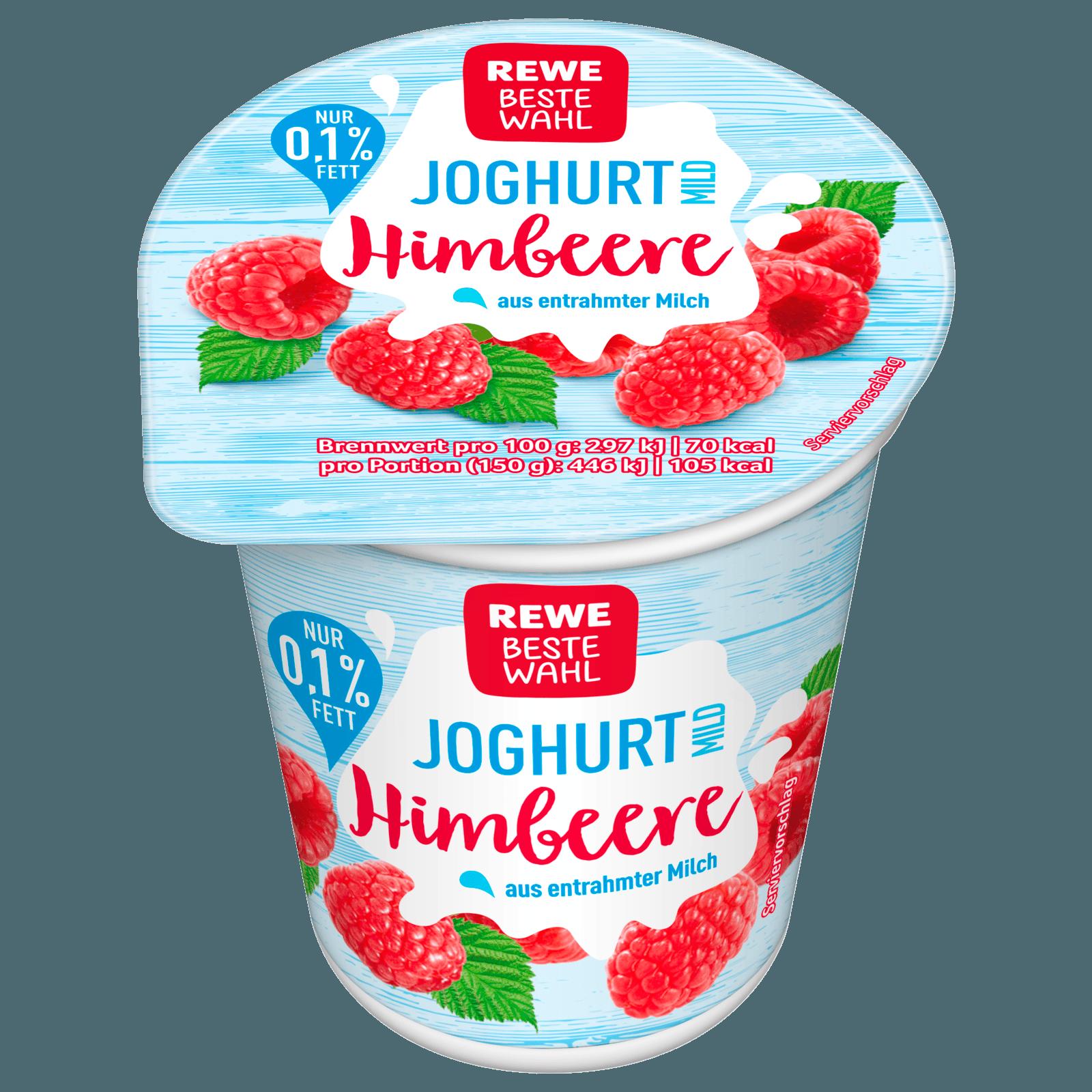 REWE Beste Wahl Fruchtjoghurt mild Himbeere 150g