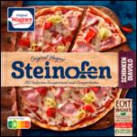 Original Wagner Steinofen Pizza Schinken Diavolo scharf tiefgefroren 340g