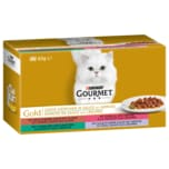 Purina Gourmet Gold zarte Häppchen mit Gemüse 4x85g