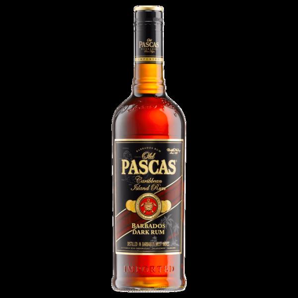 Old Pascas Ron Negro Dark Barbados Rum 0,7l