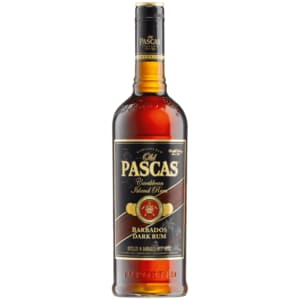 Old Pascas Ron Negro Dark Barbados Rum 0,7l