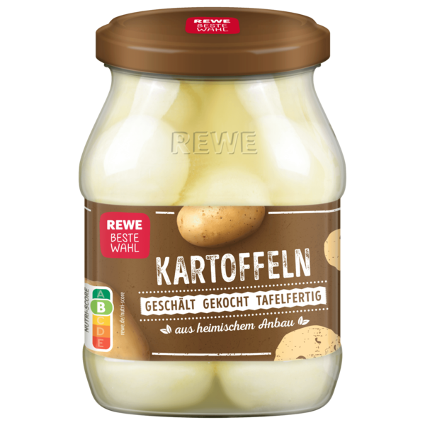 REWE Beste Wahl Kartoffeln 420g