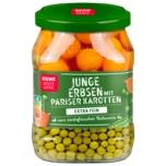 REWE Beste Wahl Erbsen sehr fein mit Pariser Karotten klein 420g