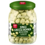 REWE Beste Wahl Junge Große Bohnen 420g