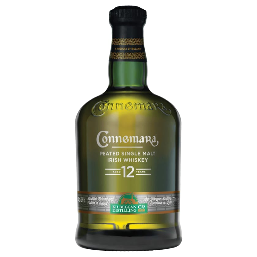 Connemara Peated Single Malt Irish Whiskey 12 years 0,7l