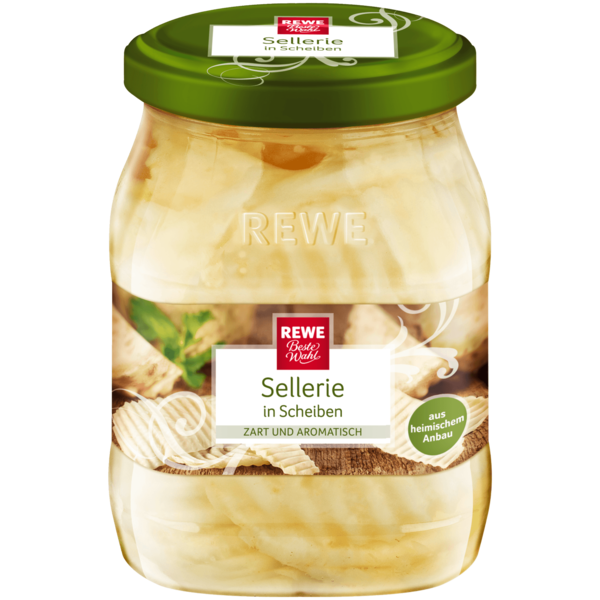 REWE Beste Wahl Sellerie in Scheiben 360g