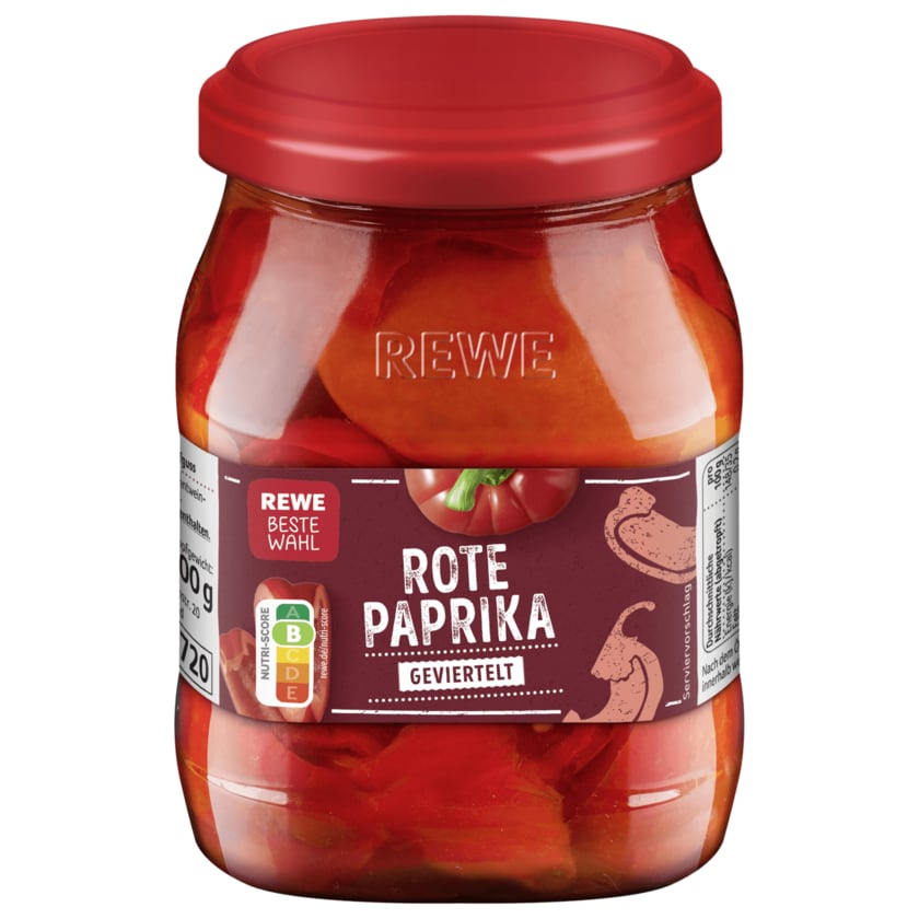 REWE Beste Wahl Tomatenpaprika 300g