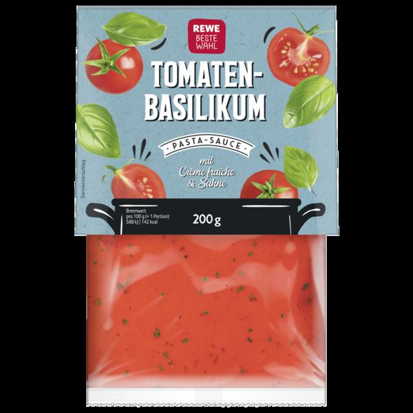 REWE Beste Wahl Pastasauce Tomate-Basilikum 200g