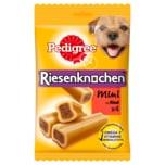 Pedigree Hundesnack Riesenknochen Mini mit Rind 4 Stück