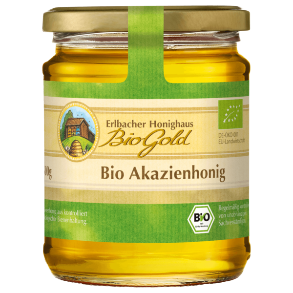Biogold Honig Bio Akazie 500g