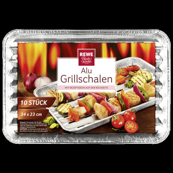 REWE Beste Wahl Alu-Grillschalen 10 Stück