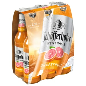 Schöfferhofer Grapefruit 6x0,33l