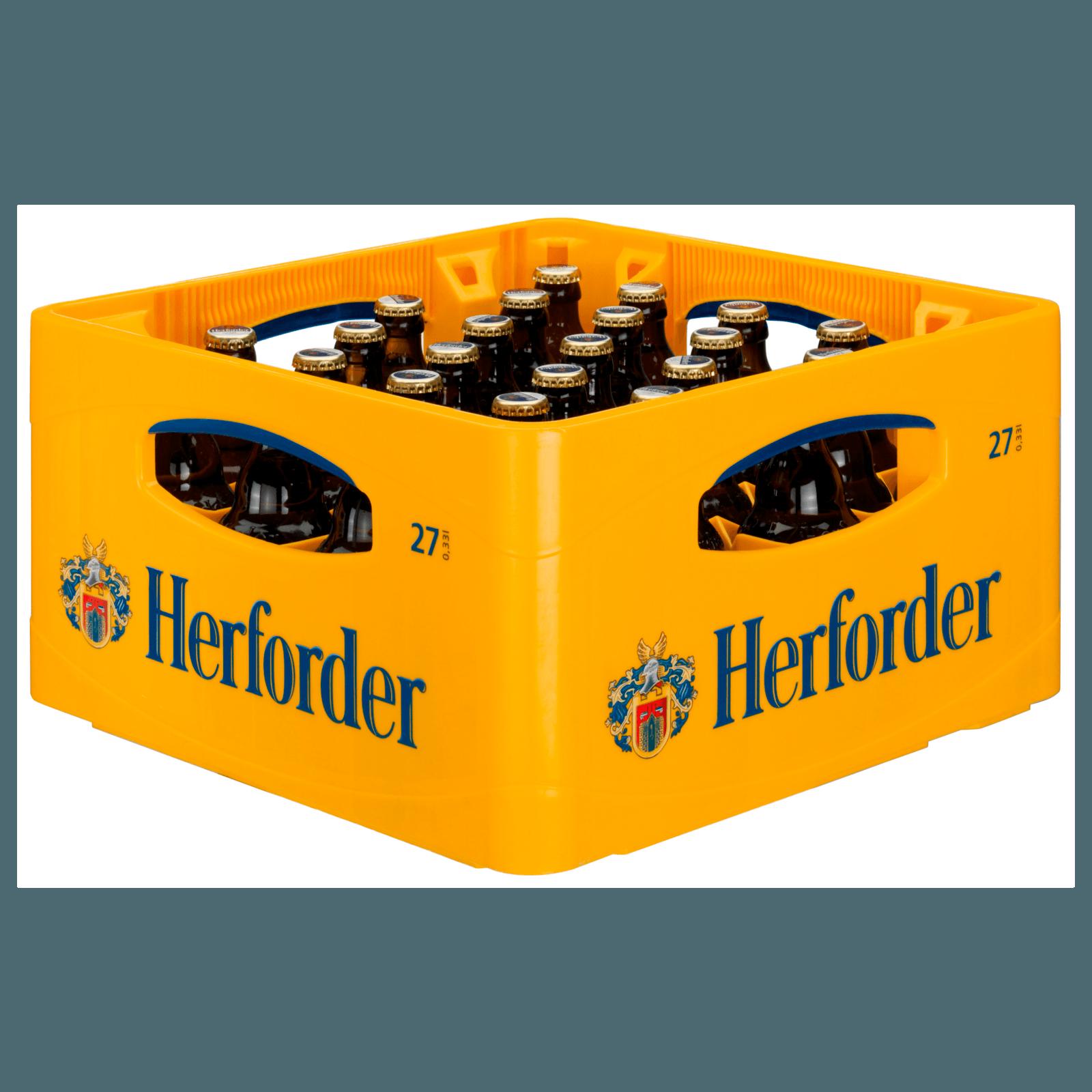 Herforder Pils 27x0,33l bei REWE online bestellen!