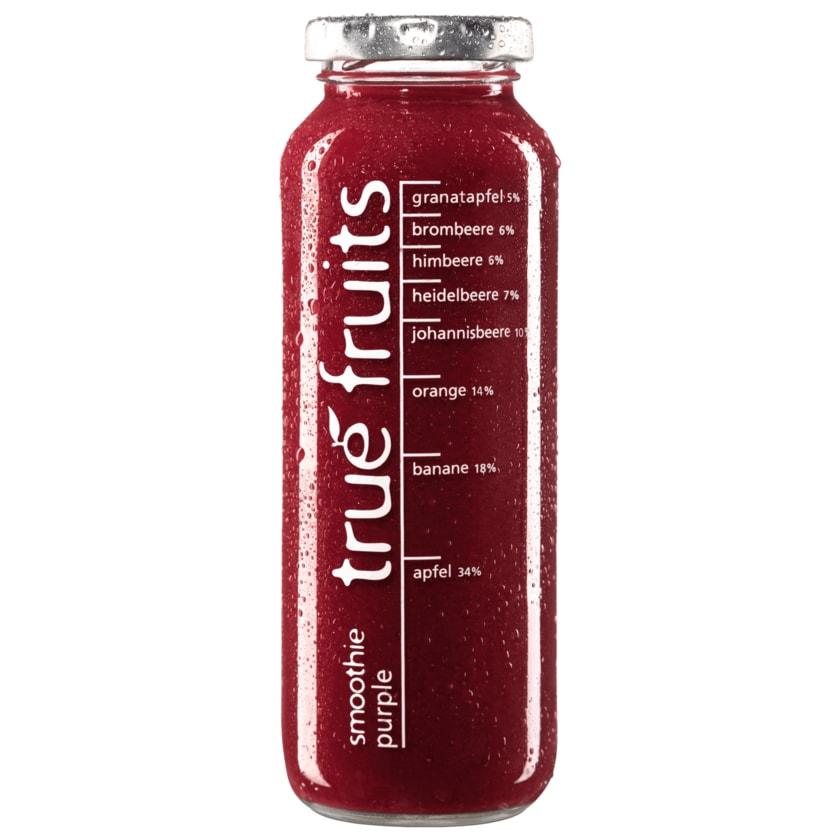True Fruits Smoothie purple 250ml