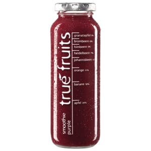 True Fruits Smoothie purple 250ml