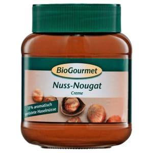 BioGourmet Nuss-Nougat-Creme 400g