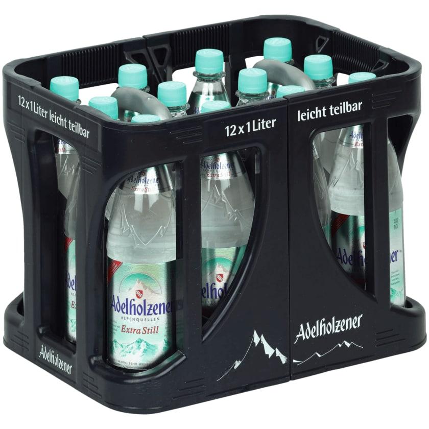 Adelholzener Mineralwasser Extra still 12x1l