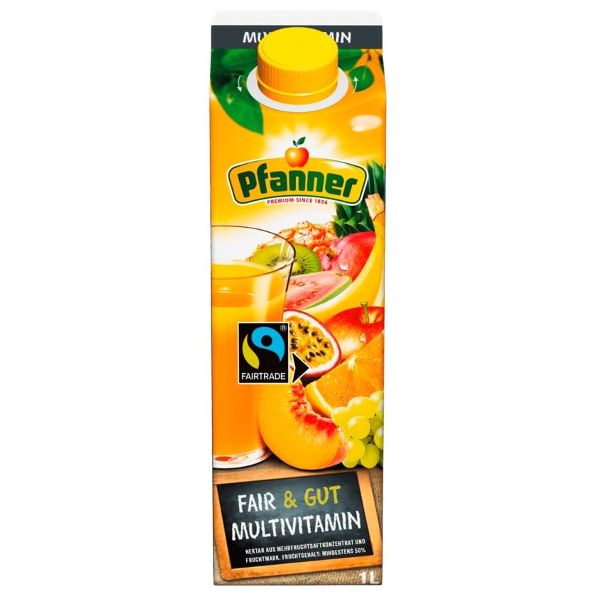 Pfanner Fairtrade Multivitamin 1l