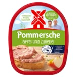Rügenwalder Mühle Pommersche Leberwurst Apfel-Zwiebel 125g