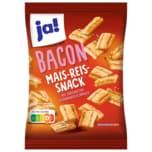ja! Bacon Mais-Reis-Snack Schinkengeschmack 125g