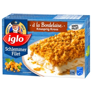 Iglo Schlemmer-Filet Bordelaise knusprig-kross 380g