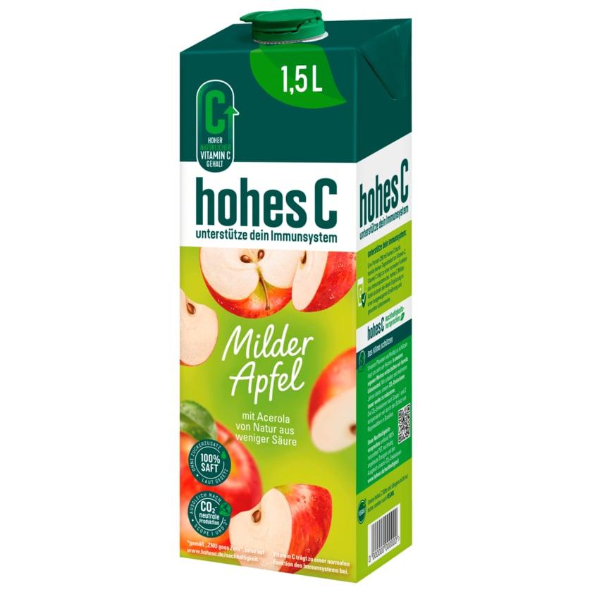 Hohes C Milder Apfel 1,5l
