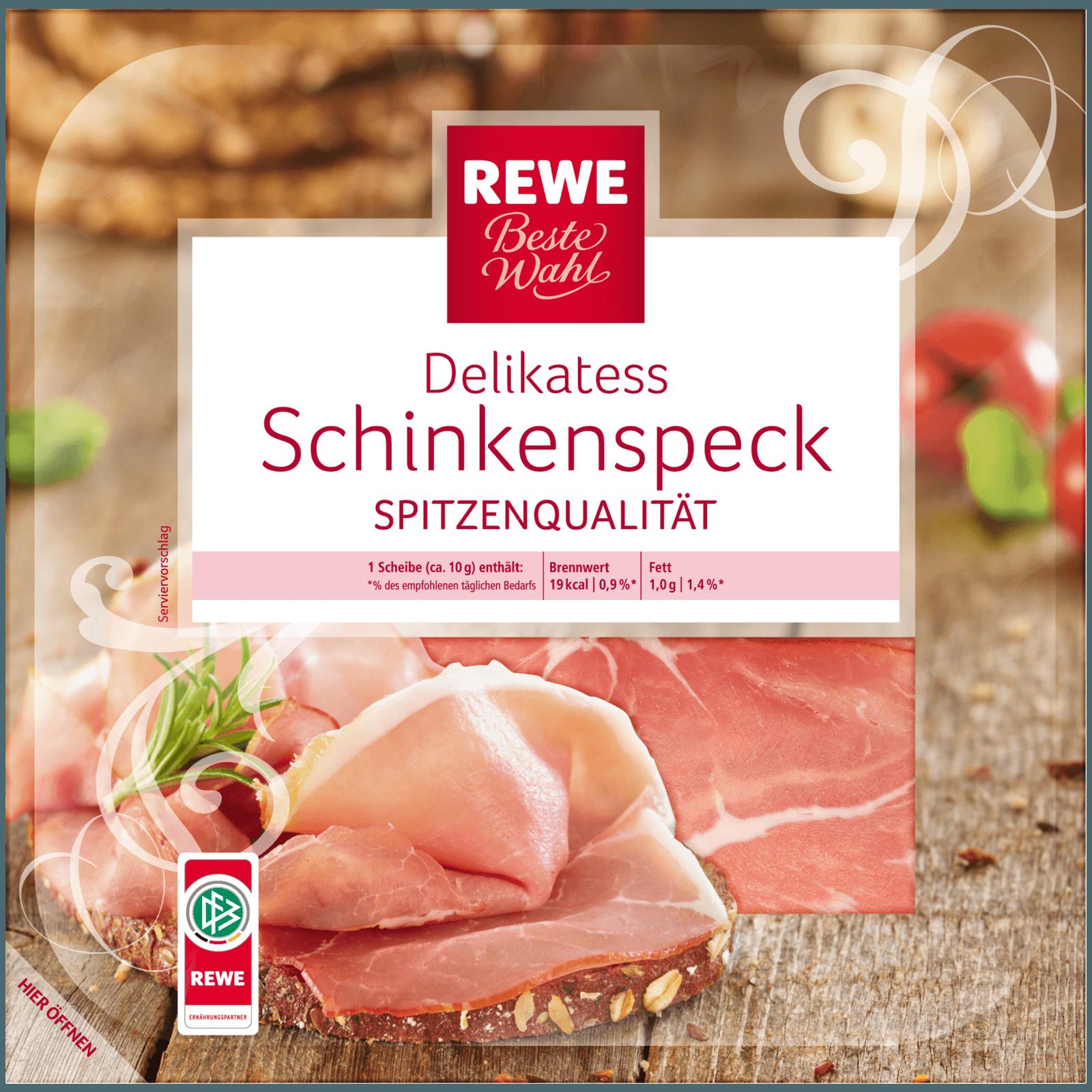 REWE Beste Wahl Schinkenspeck 100g