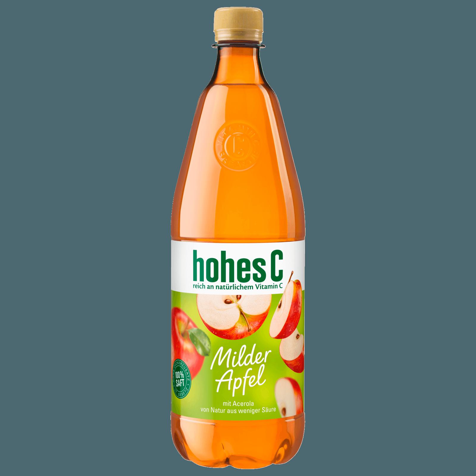 Hohes C Milder Apfel 1l