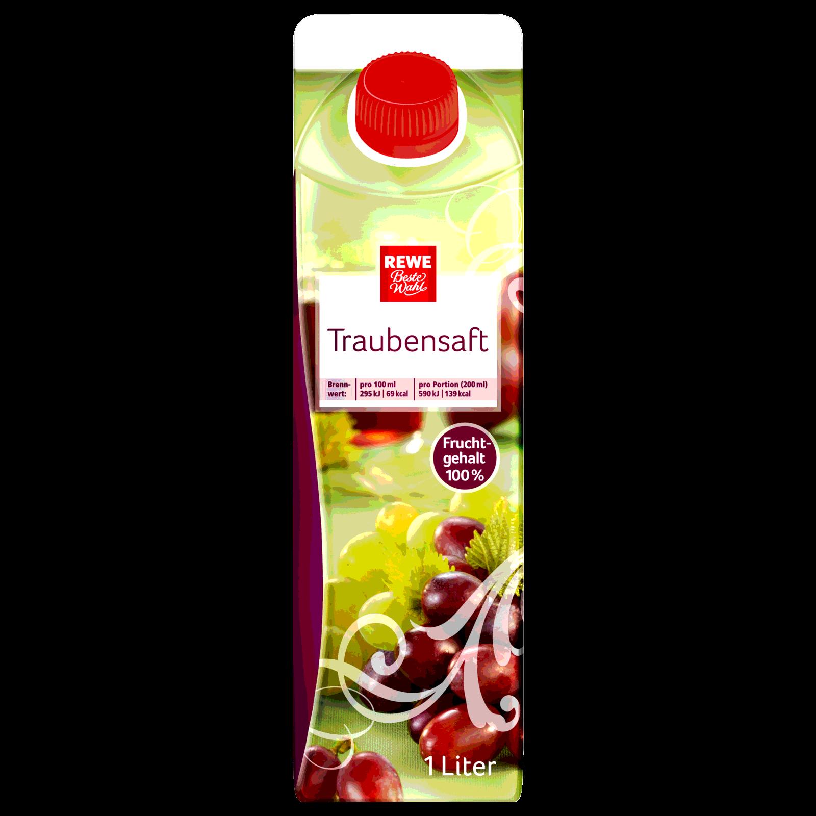 REWE Beste Wahl Traubensaft 1l