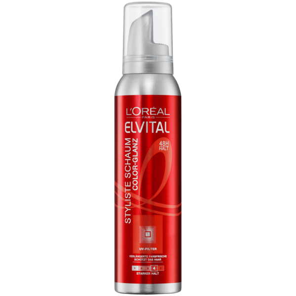 L'Oréal Paris Elvital Styliste Schaumfestiger Color-Glanz 150ml