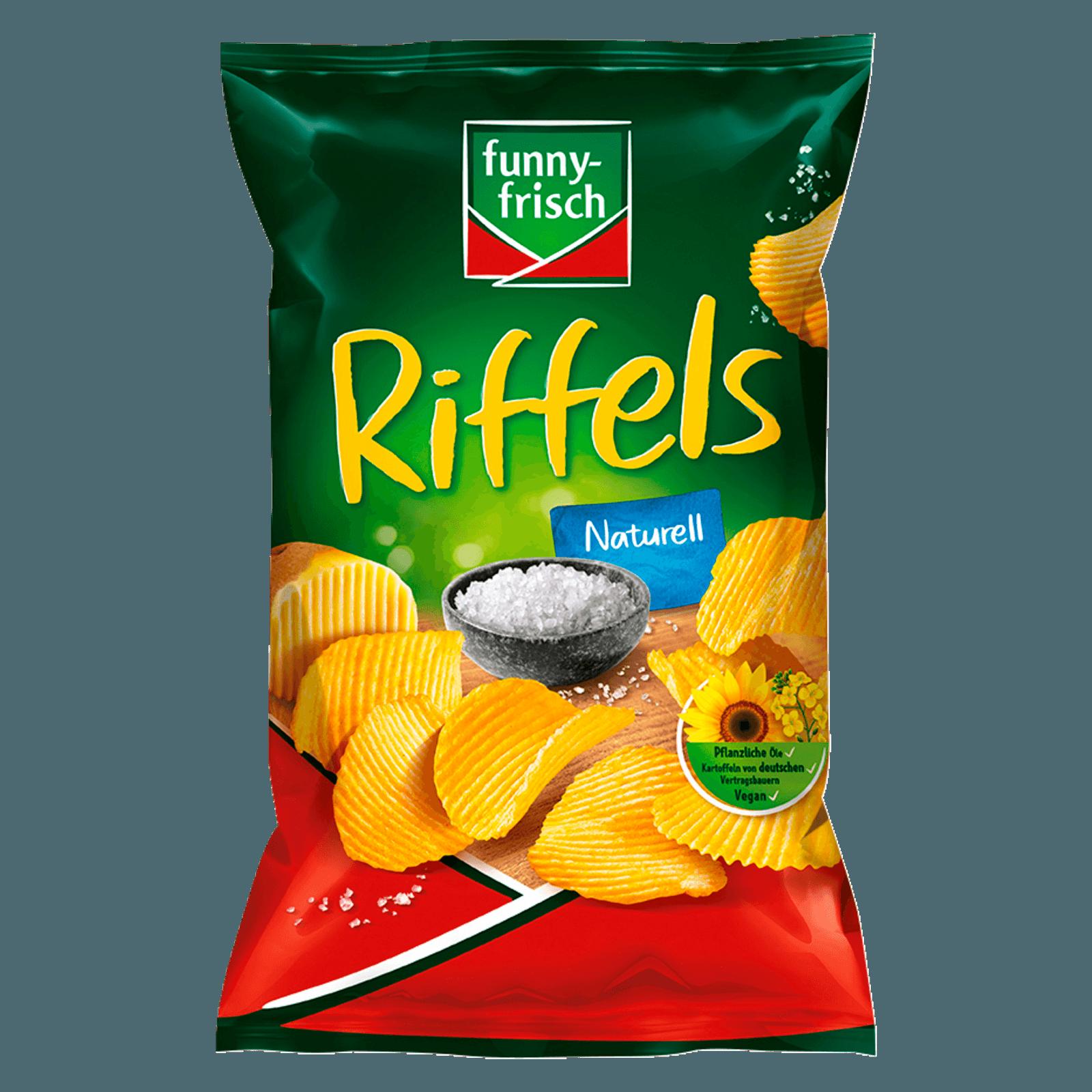 Funny-frisch Riffels Naturell 150g