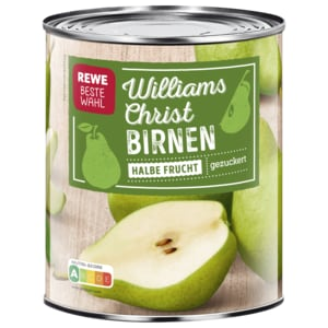 REWE Beste Wahl Williams-Christ Birnen halbe Frucht 455g