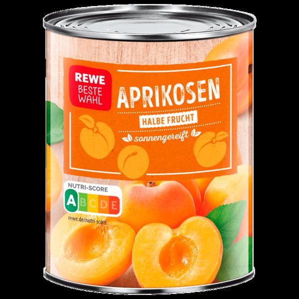 REWE Beste Wahl Aprikosen halbe Frucht 475g