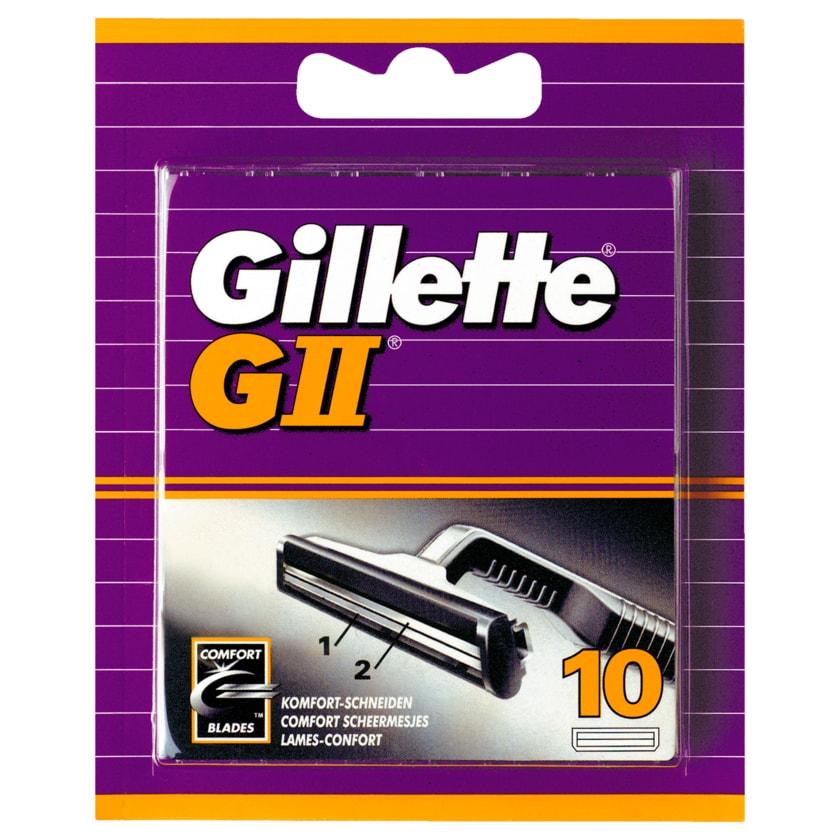Gillette Klingen GII 10 Stück