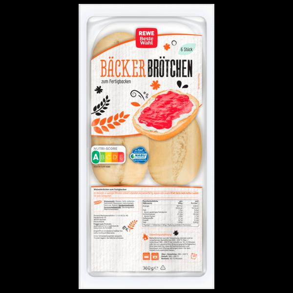 REWE Beste Wahl Bäcker-Brötchen 360g