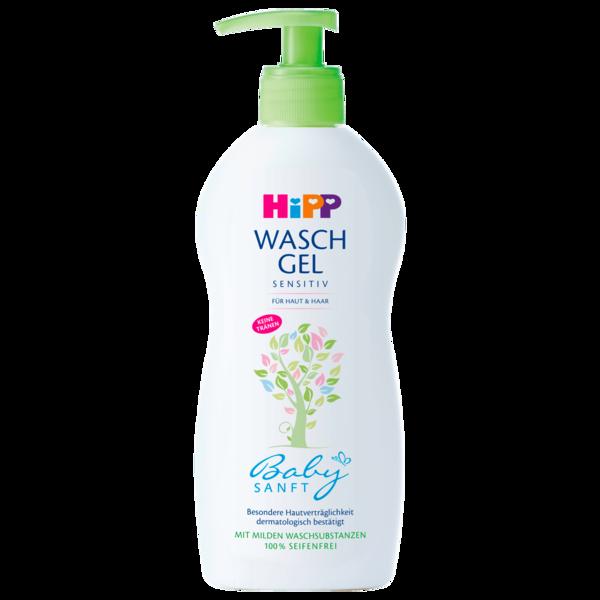 Hipp Waschgel Sensitiv für Haut & Haar 400ml