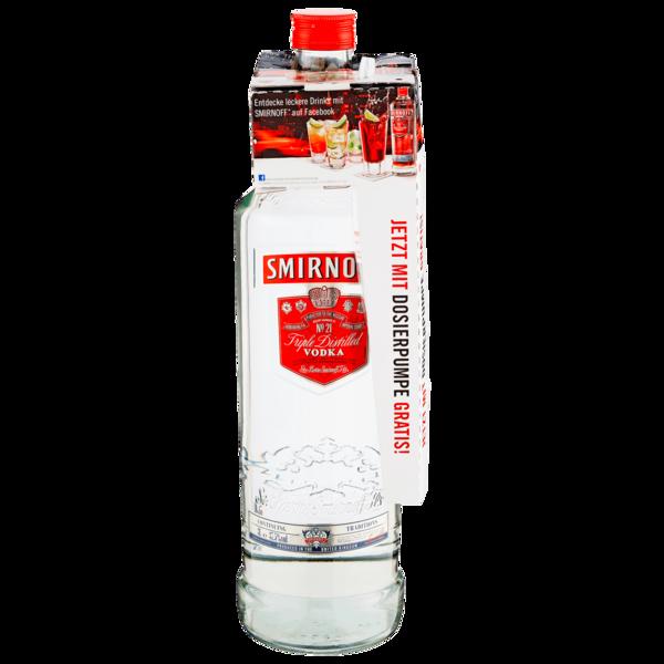 Smirnoff Red No. 21 Premium Vodka Triple Destilled 3l