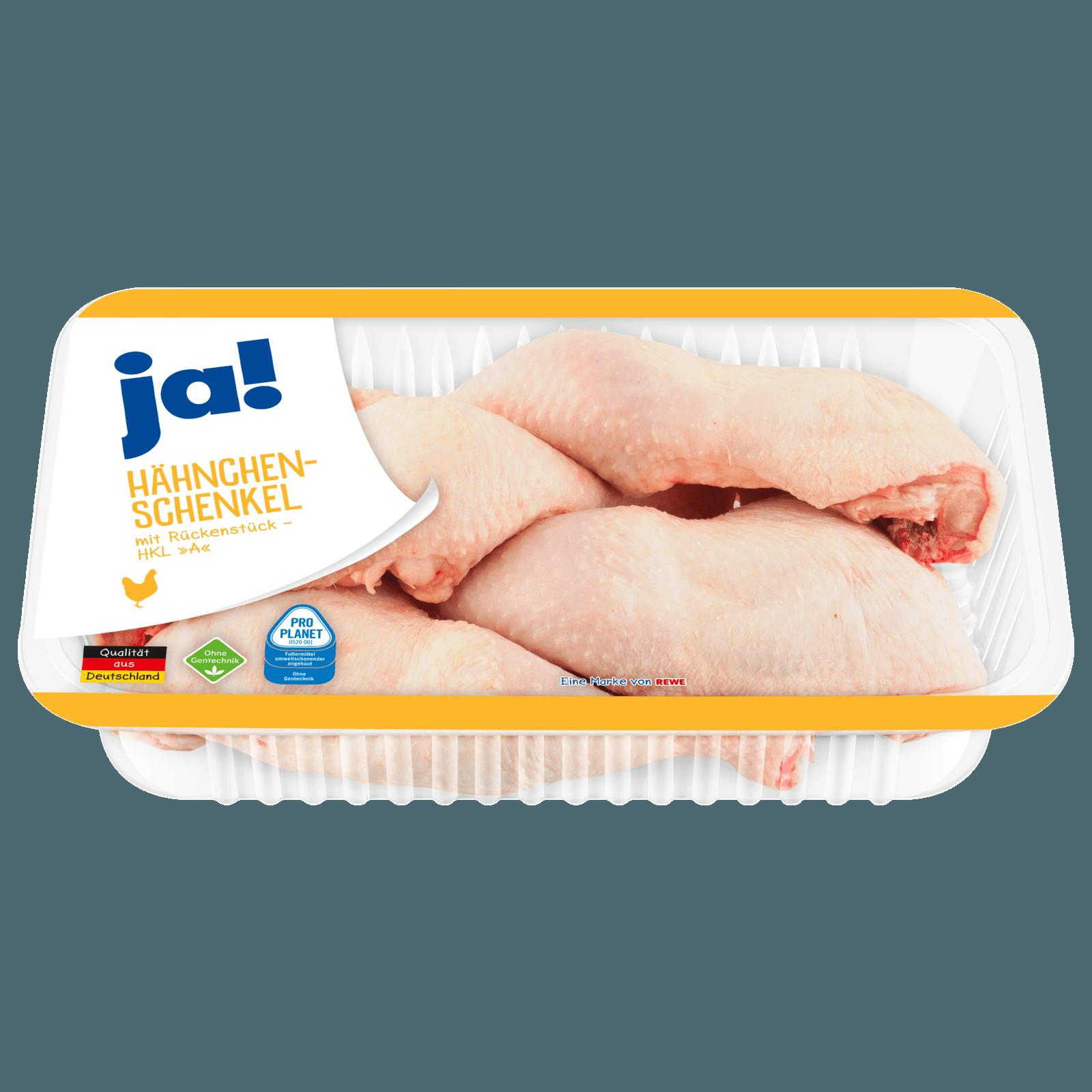 ja! Frische Hähnchenschenkel ca. 1,1kg