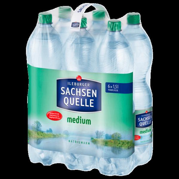 Ileburger Sachsen Quelle Medium 6x1,5l