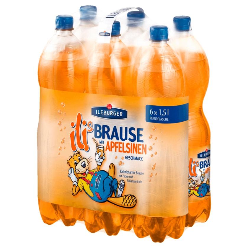 Ileburger Apfelsinen-Brause 6x1,5l
