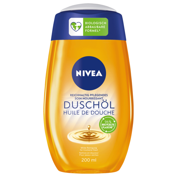 Nivea Natural Oil Duschöl Duschgel 200ml