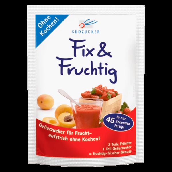 Südzucker Gelierzucker Fix & Fruchtig 125 g
