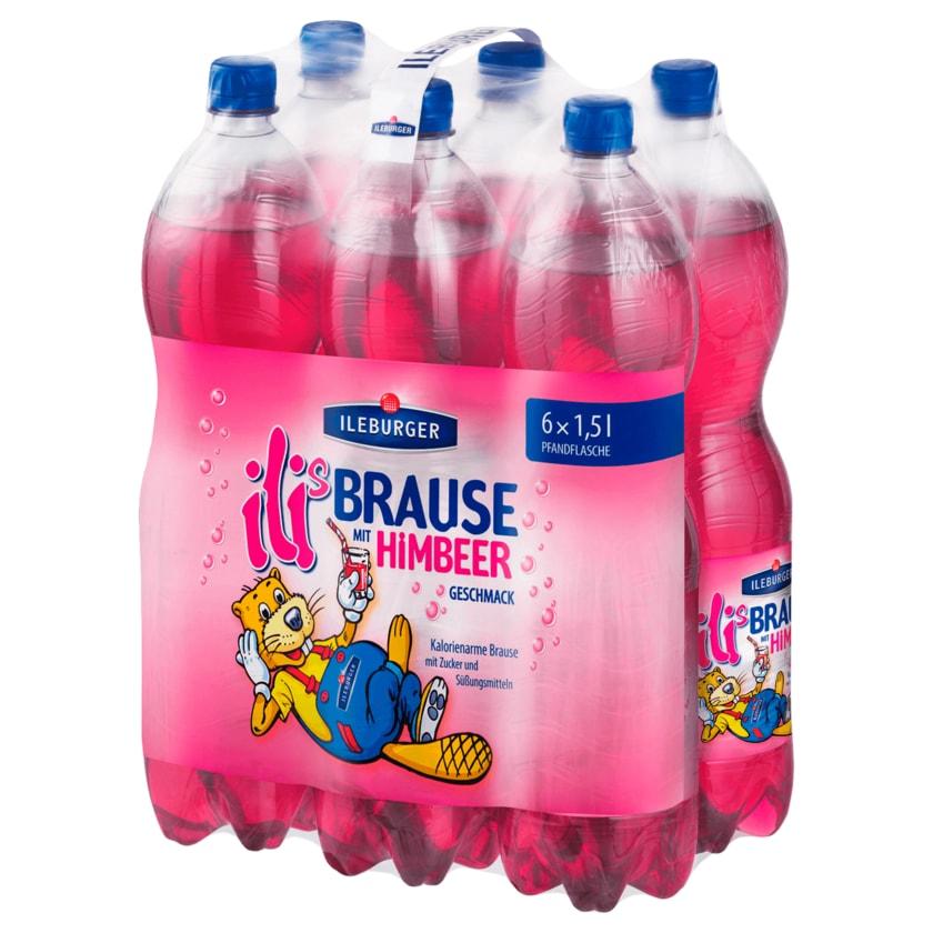 Ileburger Himbeer-Brause 6x1,5l