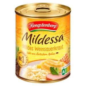 Hengstenberg Mildessa mildes Weinsauerkraut 770g