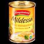 Hengstenberg Mildessa Mildes Weinsauerkraut 520g