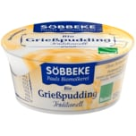 Söbbeke Pauls Biomolkerei Bio Grießpudding Traditionell 150g